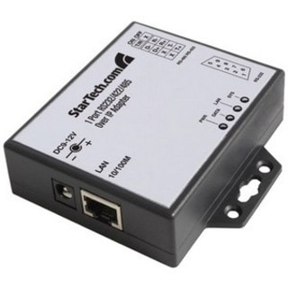StarTech.com 1 Port RS-232/422/485 Serial over IP Ethernet Device Ser