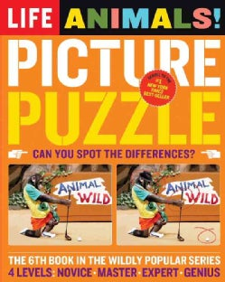 Life Picture Puzzle Animals (Paperback)