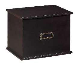 Solid Wood Stationery Box