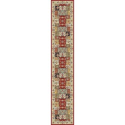 Lyndhurst Traditional Multicolor/ Ivory Runner (2'3 x 14')