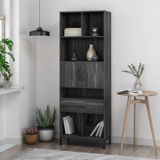 Fraser Contemporary Faux Wood Cube Unit Bookcase by Christopher Knight Home