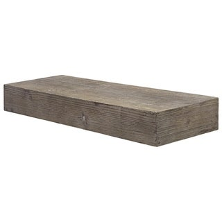 The Gray Barn Haven Rustic Wood Floating Wall Shelf (Small)