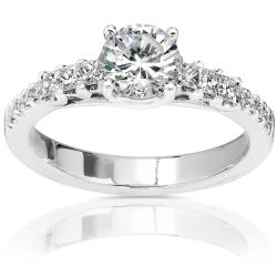 14k Gold 1 1/5ct TDW Diamond Engagement Ring (H-I, I1-I2)