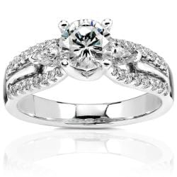 18k Gold 1 3/8ct TDW Diamond Engagement Ring (H-I, I1-I2)