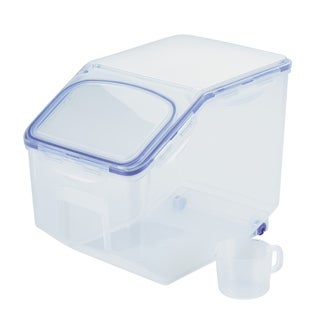 Easy Essentials Pantry Food Storage Container with Lid and Serving Cup