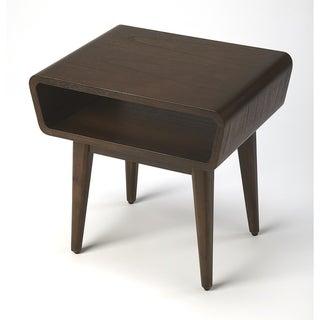Handmade Maryland Dark Brown Storage End Table (Indonesia)