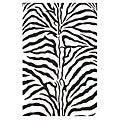 Hand-tufted Zebra Stripe Wool Rug (8' 9 x 13)