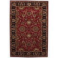 Hand-tufted Tarana Red Wool Rug (9' x 13')