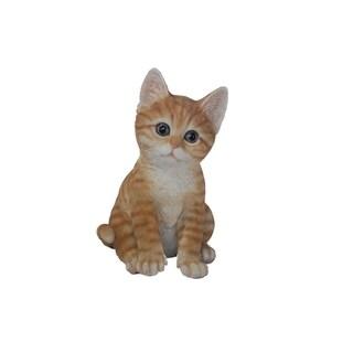 Sitting Kitten Statue