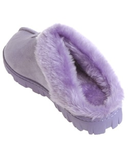 Fireside Casuals Women's Memory Foam Clog Slippers