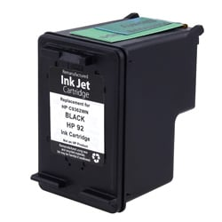 HP 92 Black Ink Cartridge (Remanufactured)