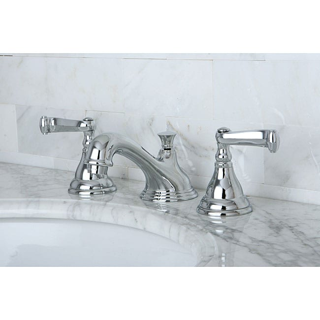 Widespread Bathroom Faucet Chrome : Royale Widespread Chrome Bathroom Faucet - 11076485 - Overstock.com ...