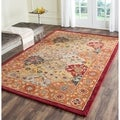 Handmade Heritage Bakhtiari Multi/ Red Wool Rug (9&#39;6 x 13&#39;6)