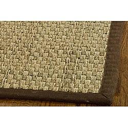 Safavieh Hand-woven Sisal Natural/ Brown Seagrass Runner (2'6 x 8')