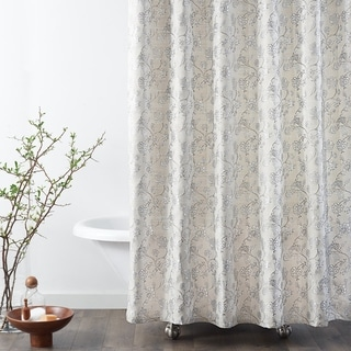 Copper Grove Traun Jacobean Floral Shower Curtains