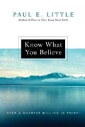 Know What You Believe (Paperback)