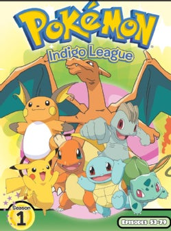 Pokemon Season 1: Indigo League Part 3 Box Set (DVD)