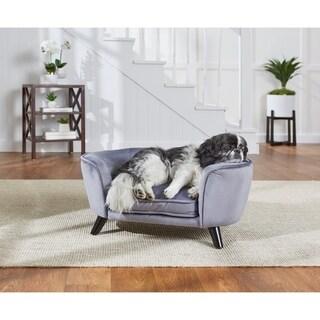 Enchanted Home Pet Romy Pet Sofa - Pewter