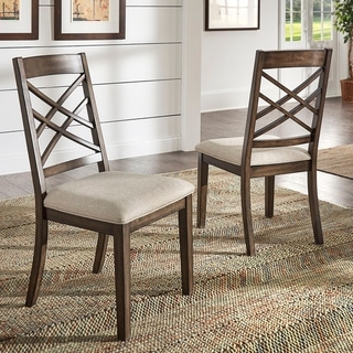 Garrison Espresso Finish Dining Chairs (Set of 2) by iNSPIRE Q Modern