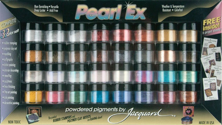 Pearl Ex Powdered 32-color Pigment Set