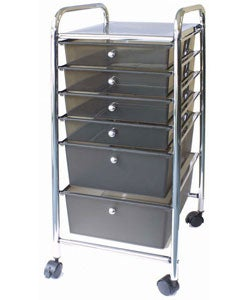 Cropper Hopper Home Center Metal Rolling Cart