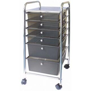 Cropper Hopper Home Center Metal Rolling Cart