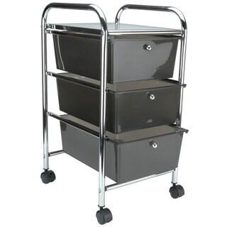 Cropper Hopper Home Center Rolling Cart (Smoke)
