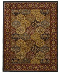 Safavieh Handmade Heritage Bakhtiari Multi/ Navy Wool Rug (9'6 x 13'6)
