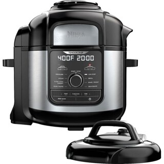 Ninja FD402 Foodi 8-Qt. 9-in-1 Deluxe XL Pressure Cooker & Air Fryer