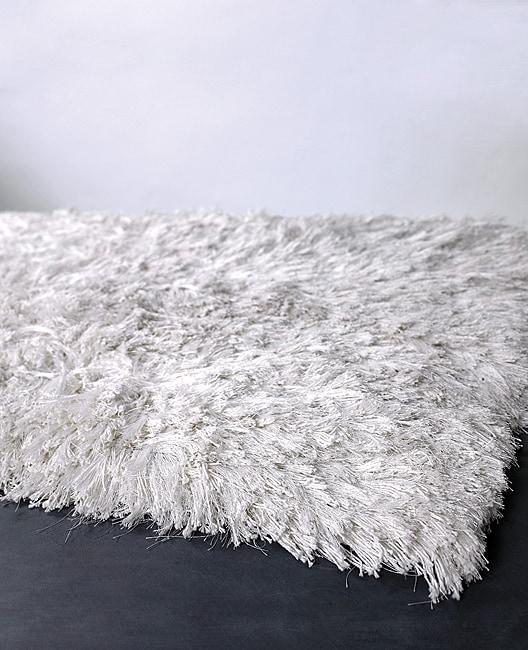 Hand-woven Mandara New Zealand Wool Rug (8' x 11')