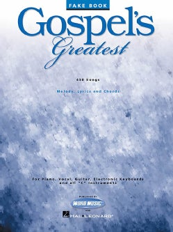 Gospel's Greatest Fake Book (Paperback)