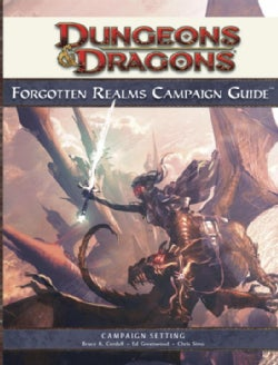 Dungeons & Dragons Forgotten Realms Campaign Guide: Roleplaying Game Supplement (Hardcover)