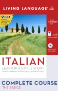 Italian, Learn in 4 Simple Steps!: Words-Phrases-Sentences-Conversations