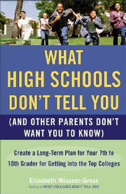What High Schools Don't Tell You, (And Other Parents Don't Want You to Know) (Paperback)