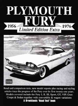 Plymouth Fury Limited Edition Extra 1956-1976 (Paperback)