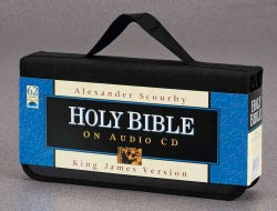 Scourby KJV Bible: King James Version (CD-Audio)