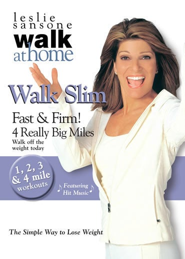 Leslie Sansone: Walk Slim Fast & Firm 4 Really Big Miles (DVD)