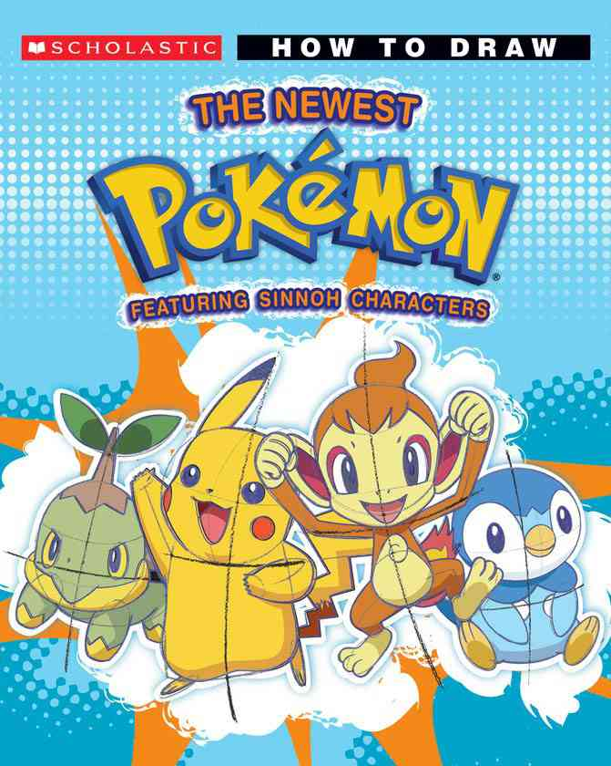 How To Draw Pokemon Sinnoh Friends: Featuring Sinnoh Characters (Paperback)