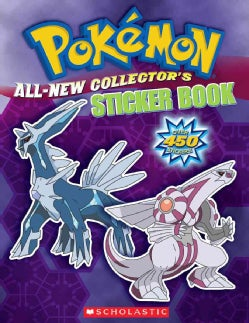 Pokemom All-New Collector's Sticker Book (Paperback)
