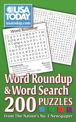 USA Today Word Roundup & Word Search: 200 Puzzles from the Nation's No. 1 Newspaper (Paperback)