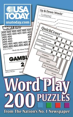 USA Today Word Play: Whatzit?, Up & Down Words, Quickcross: 200 Puzzles from the Nation's No. 1 Newspaper (Paperback)