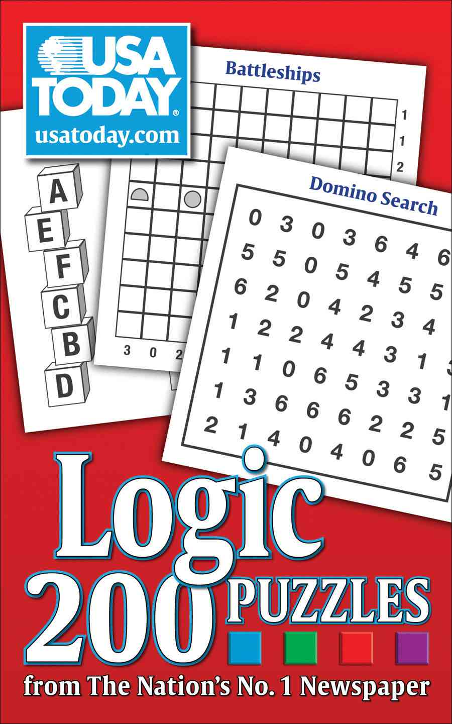 USA Today Logic Puzzles: 200 Puzzles from the Nation's No. 1 Newspaper (Paperback)