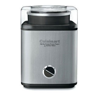 Cuisinart CIM-60PCFR Brushed Chrome 2-quart Ice Cream Maker (Refurbished)