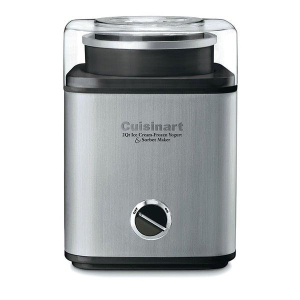Cuisinart CIM-60PCFR Brushed Chrome 2-quart Ice Cream Maker (Refurbished)