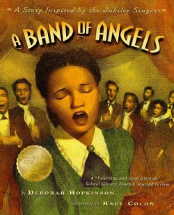 A Band of Angels: A Story Inspired by the Jubilee Singers (Paperback)