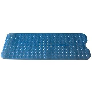 Extra Long U Shape Bath Mat Blue