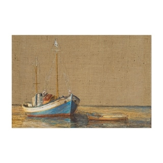 Noir Gallery Nautical Boat Maritime Oil Painting Unframed Art Print/Poster