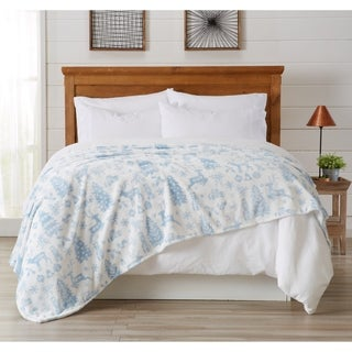 Pearl Collection Super Soft Velvet Plush Bed Blanket