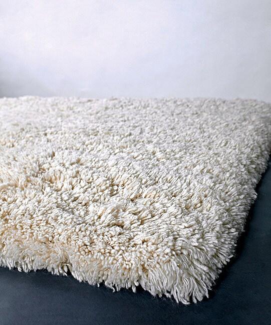 Hand-woven Contemporary Mandara Rug (8' Round)