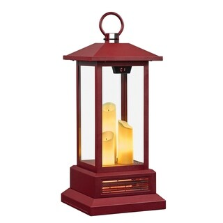 duraflame 28 Electric Lantern with Infrared Heat and Remote Control Cinnamon